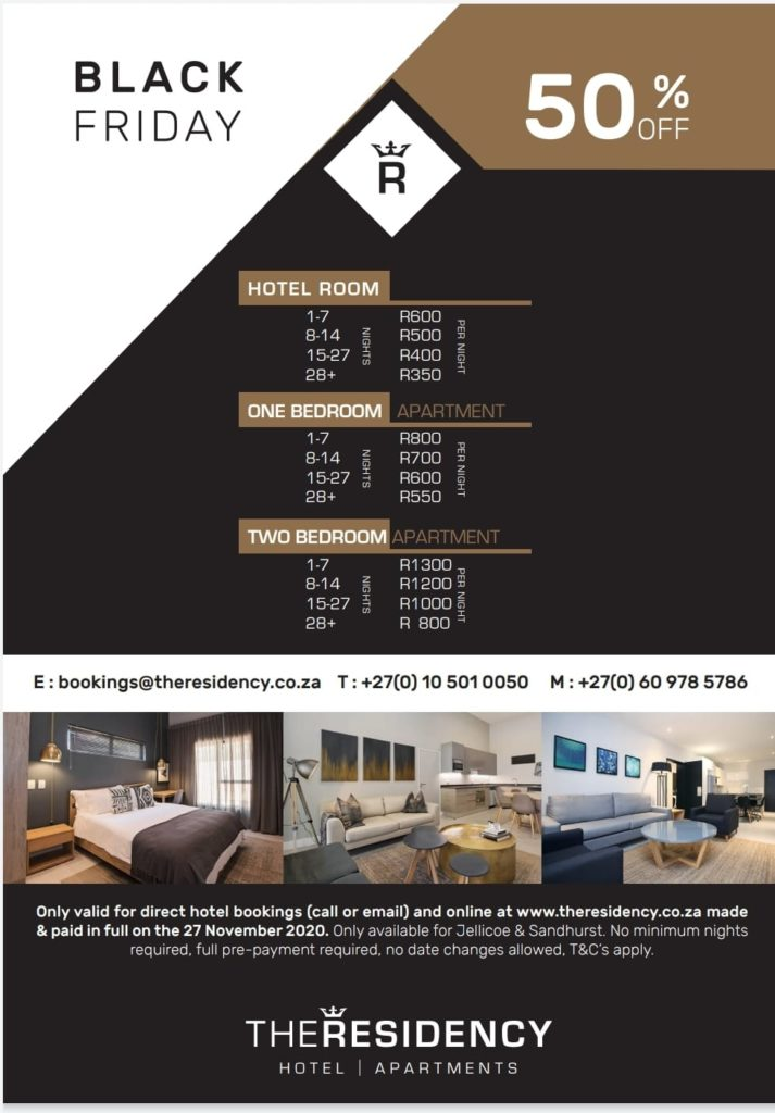 Residency Johannesburg - ZAPRENEUR